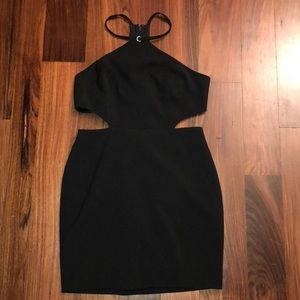Forever 21 Black cutout dress